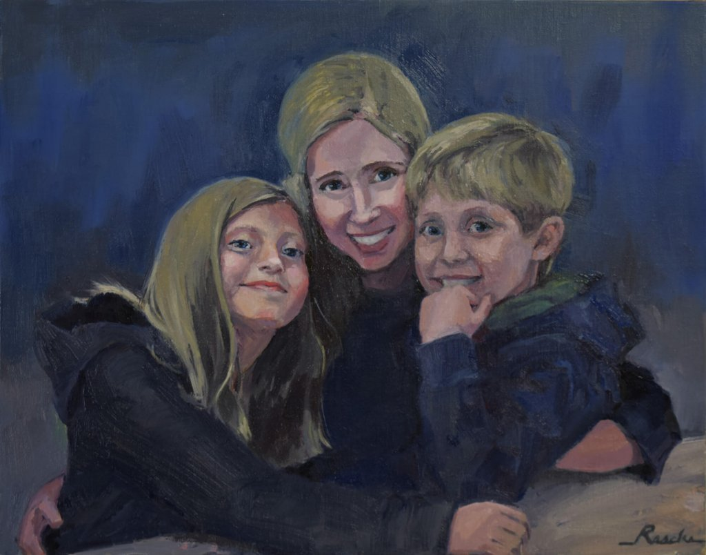 portrait painting - hire a portrait artist