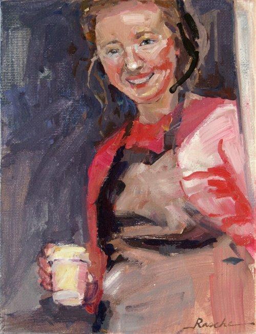 Coffee Angel sketch