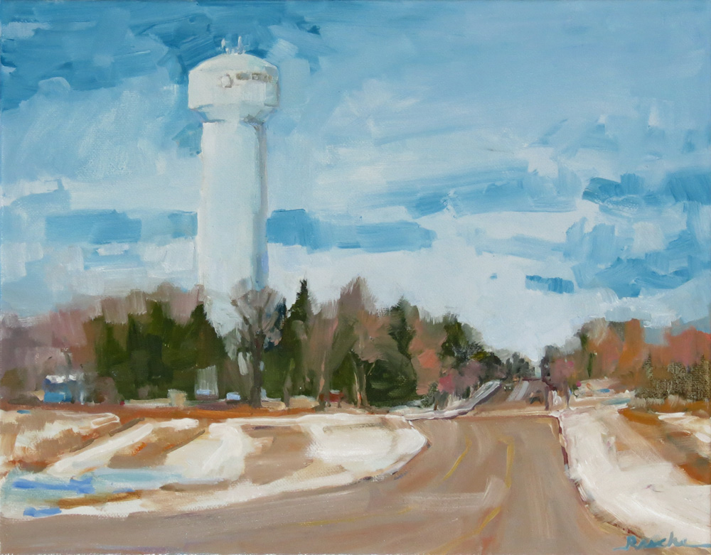 The Blue Water Tower
