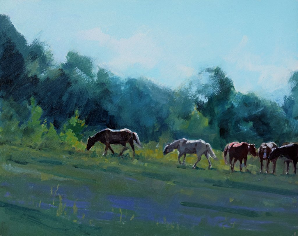 south dakota horse painting