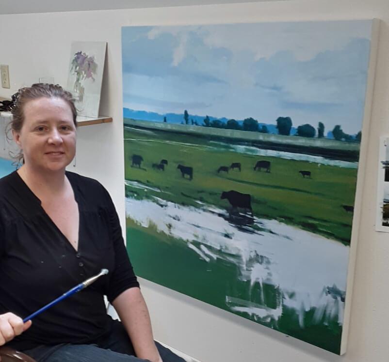 midwest landscape painting
