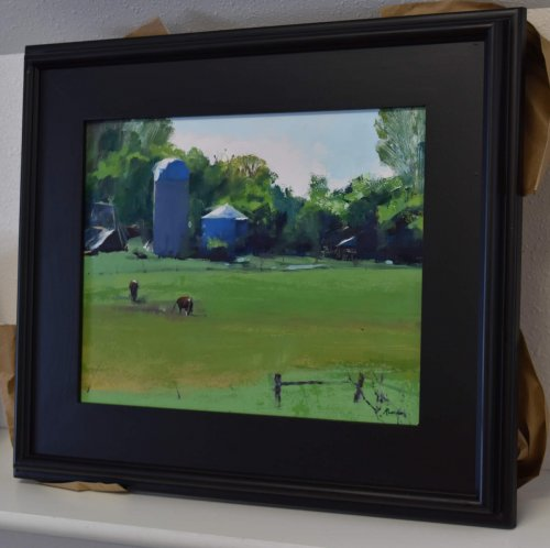 south dakota farm painting