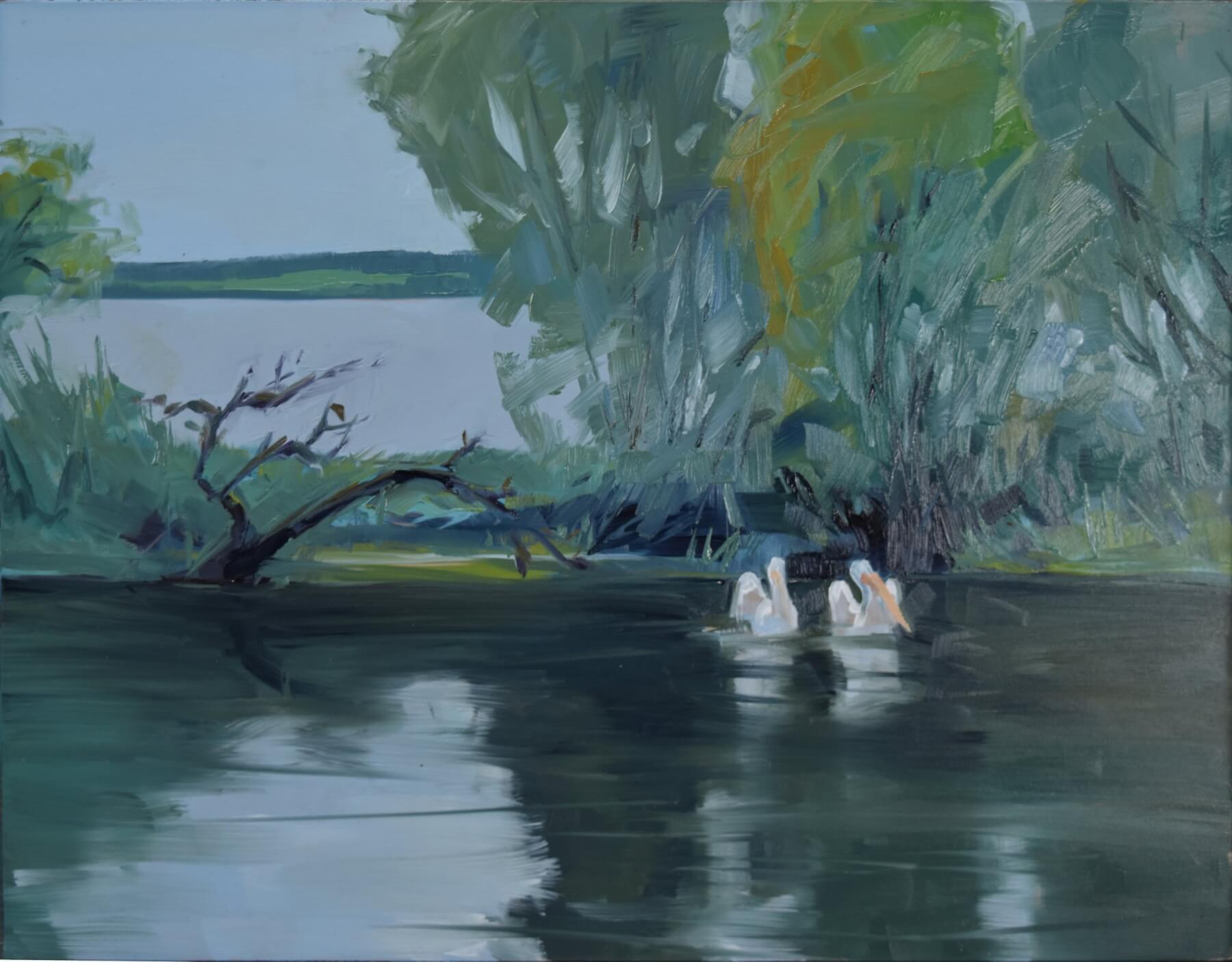 south dakota landscape painting exhibition