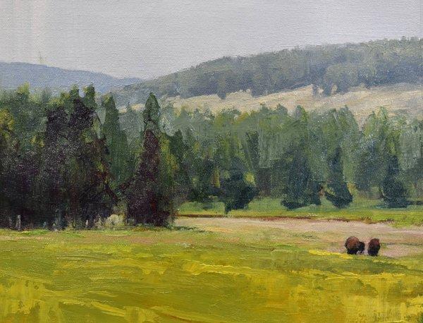 yellowstone painting
