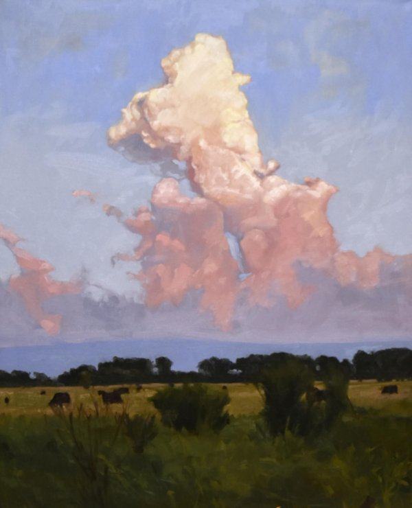 south dakota landscape cloud paintings