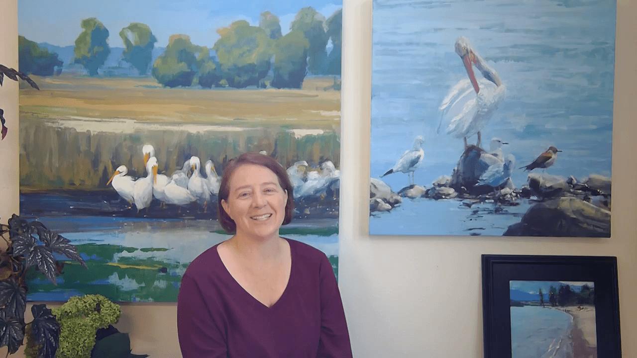 south dakota bird paintings