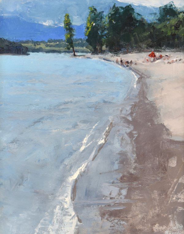idaho painting courdalene beach