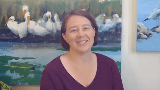 online oil painting class teacher